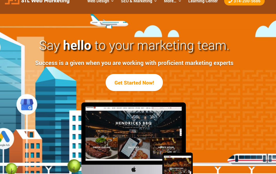 STL Web Marketing Officially Opens